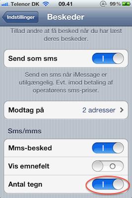 sms til udlandet