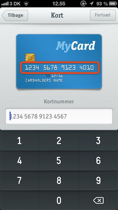 betaling uden pinkode