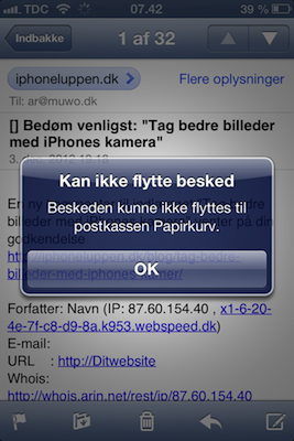 hente slettede sms iphone 5 s