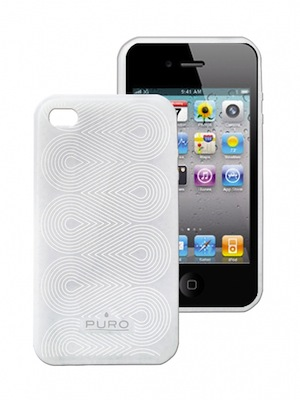 Puro Silicon-cover til iPhone 4/4S