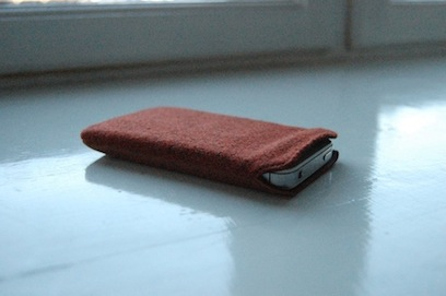 iPhone 4 4S cover med mobil i