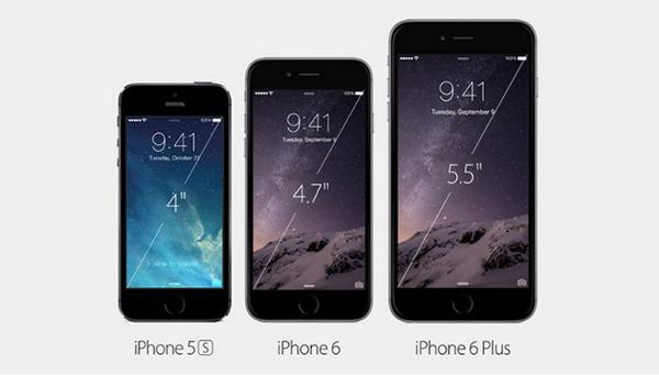 forskellen mellem iphone 5 og 6