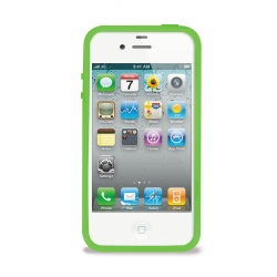 PURO Bumper Fluorescent-cover til iPhone 4/4S