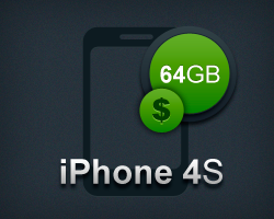 iPhone 4S 64GB prisoversigt