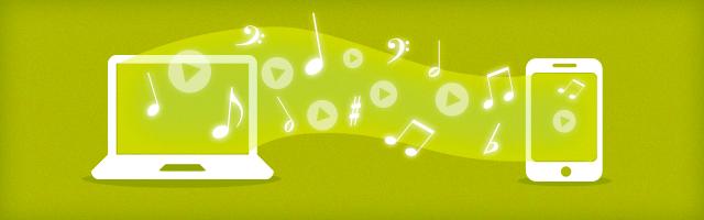 Stream musik og film fra computeren til iPhone