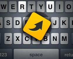 iPhone tastaturgenveje i beskeder