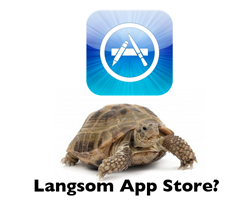 langsom app store