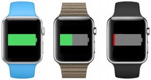 Apple watch batteri