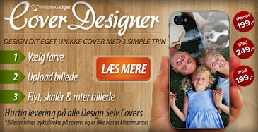 Design dit eget cover til iPhone 4/4S