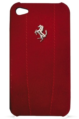 Ferrari GT Modena Leather Cover-cover til iPhone 4/4S