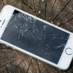 Smadret iPhone skærm