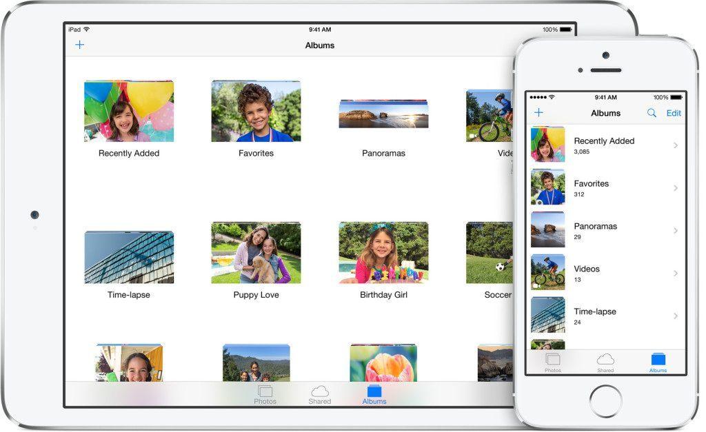 iCloud fotobibliotek